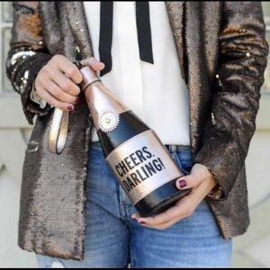 Brand New Kate Spade Champagne Bottle Wristlet